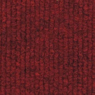 Moquette aiguilletée bouclée - Rouge foncé