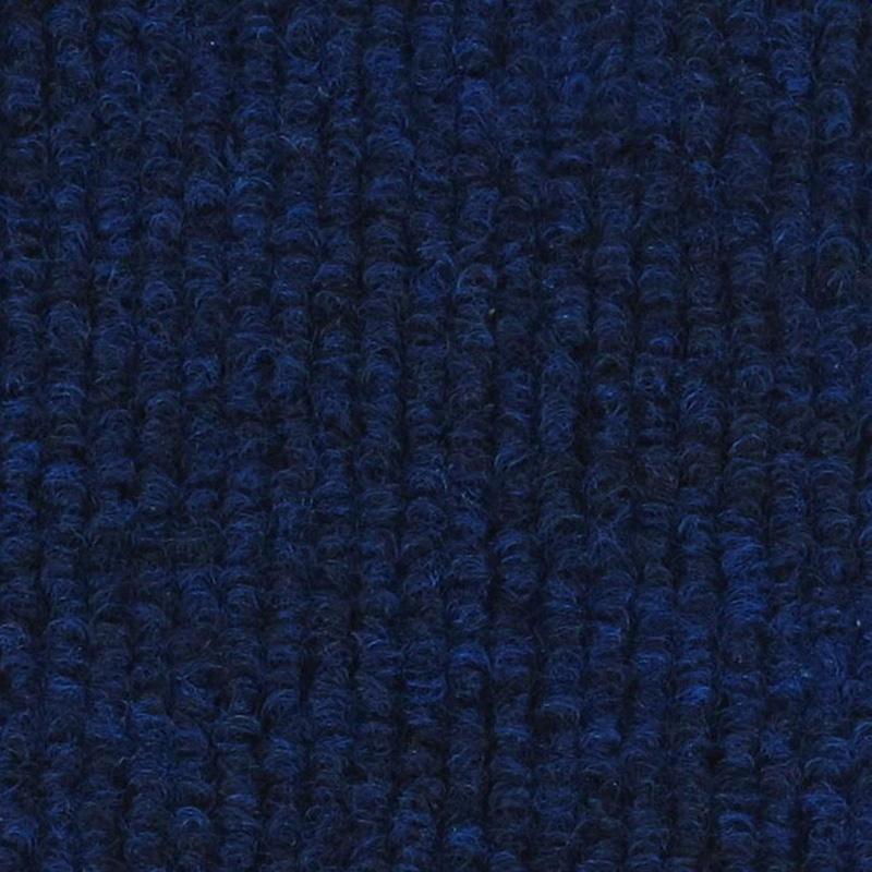 Moquette aiguilletée bouclée - Bleu foncé