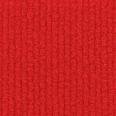 Moquette aiguilletée bouclée Rouge vif