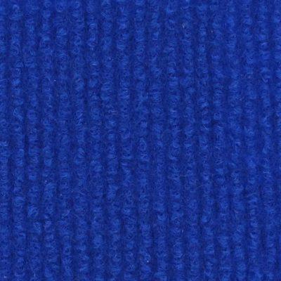 Moquette aiguilletée bouclée - Bleu roi