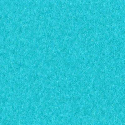 Moquette aiguilletée velours Turquoise