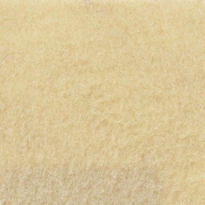 Moquette aiguilletée velours Ivoire