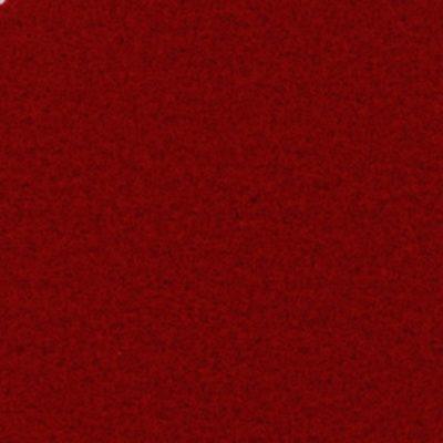 Moquette aiguilletée velours Rouge Richelieu