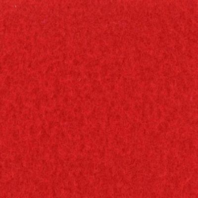 Moquette aiguilletée velours rouge