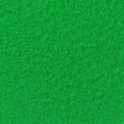 Moquette aiguilletée velours vert pomme
