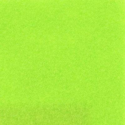 Moquette aiguilletée velours citron vert