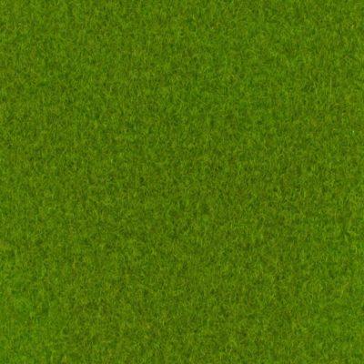 Moquette aiguilletée velours vert printemps
