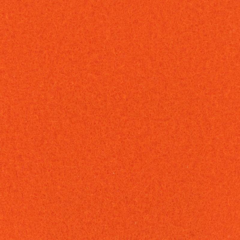 Moquette aiguilletée plate - Orange