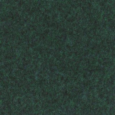 Moquette aiguilletée plate - Vert foncé