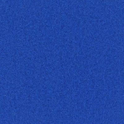 Moquette aiguilletée plate - Bleu électrique