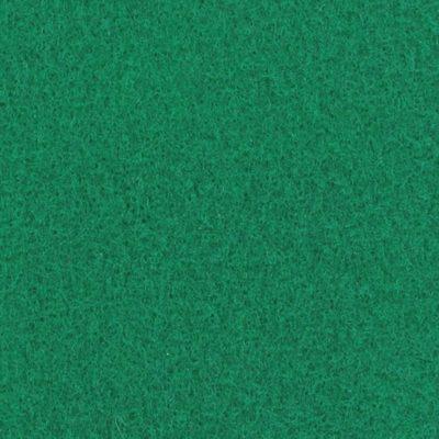 Moquette aiguilletée plate - Vert moyen