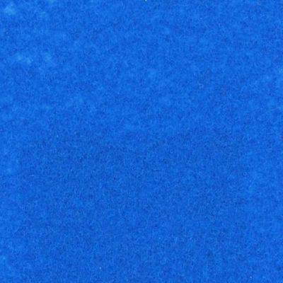 Moquette aiguilletée plate - Bleu ciel