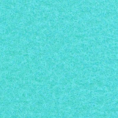 Moquette aiguilletée plate - Turquoise