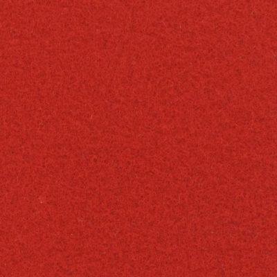 Moquette aiguilletée plate - Rouge théâtre