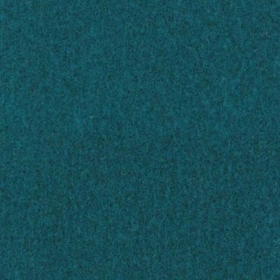 Moquette aiguilletée plate - Bleu Attol