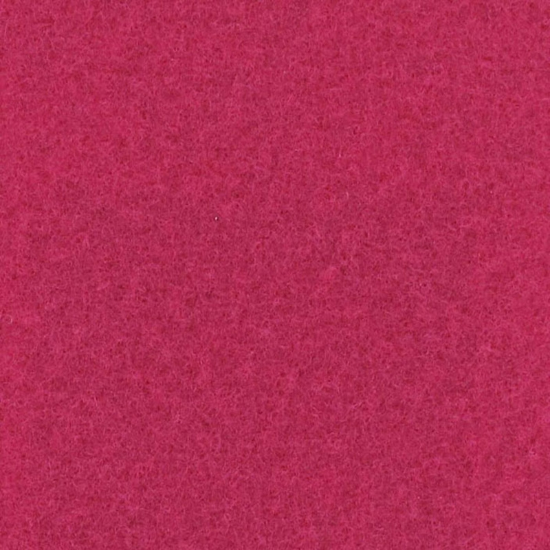 Moquette aiguilletée plate - Framboise