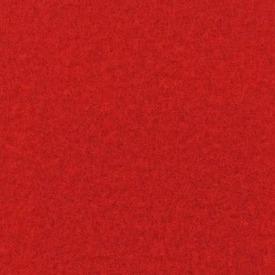 Moquette aiguilletée plate - Rouge brique
