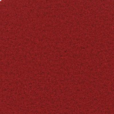 Moquette aiguilletée plate - Rouge Richelieu