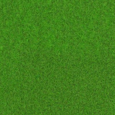Moquette aiguilletée plate - Vert printemps