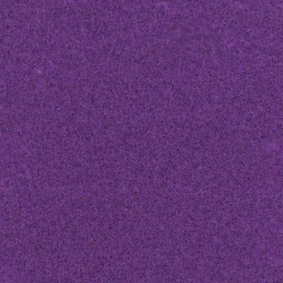 Moquette aiguilletée plate - Prune
